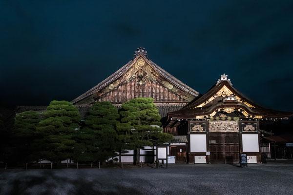 京都ライトアップイベント「京の七夕」二条城会場「二之丸御殿」