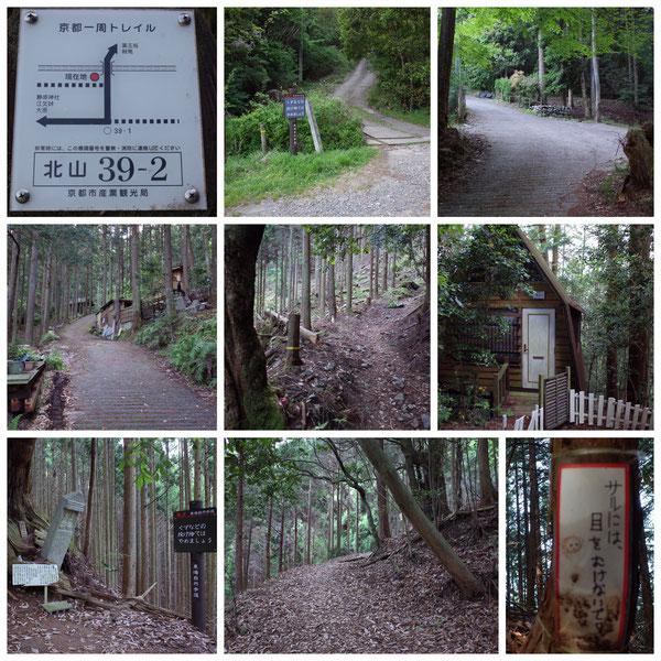 京都一周トレイル 北山東部コース 「北山39-2」