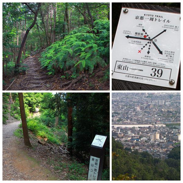 京都一周トレイル 東山コース 「東山39」