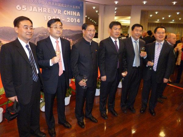 Gala zum 65. Jahrestag der VR China