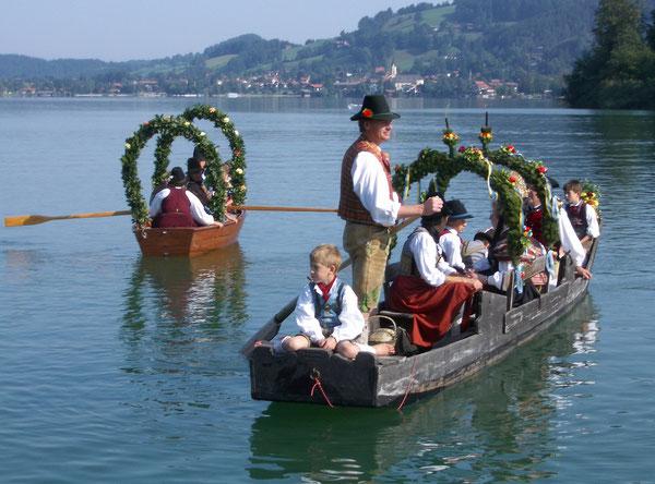 Unser Höhepunkt im Jahr: Der Schlierseer Kirchtag (Foto KK)