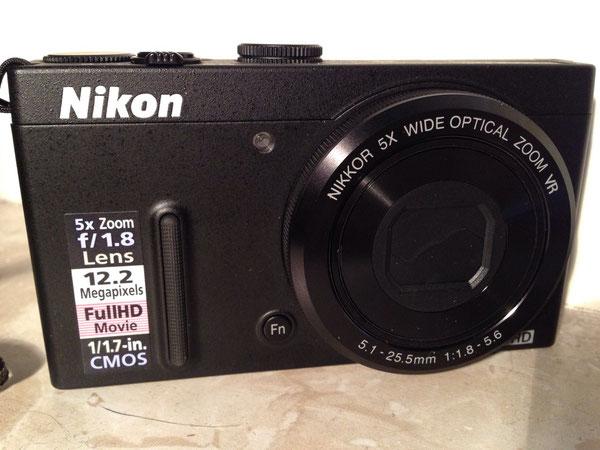 Nikon Coolpix P330, 12.2 Megapixel, GPS mit POI, 1/1.7 inch CMOS, 1:1,8 - 5,6 f=5.1mm - 25,5mm (entspricht 24 bis 120 mm), Active VR-Modus