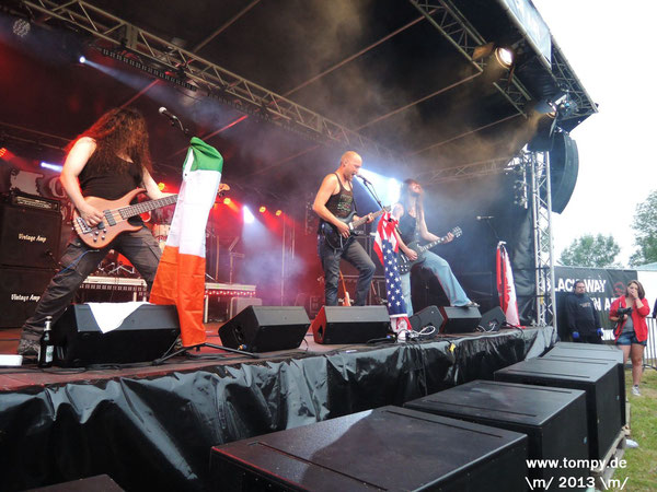 Guns Of Moropolis Black Way Open Air BWOA 2013