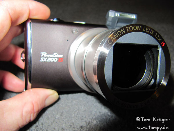 Canon PowerShot SX 200 IS, 12.1 Megapixel, 1:3.4 - 5.3 f=5.0mm - 60.0mm (entspricht 28-336 mm beim Kleinbildformat)