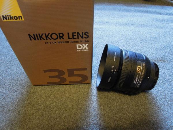 Nikkor AF-S DX 35mm 1:1,8G, Nikon HB-46