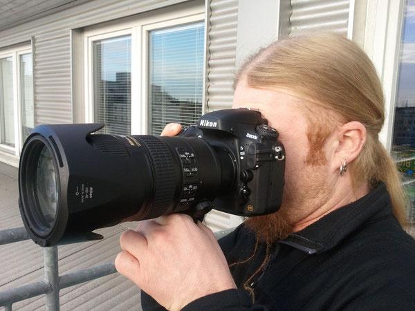 Nikon D800E + Nikkor 70-200 1:2,8G ED VR II