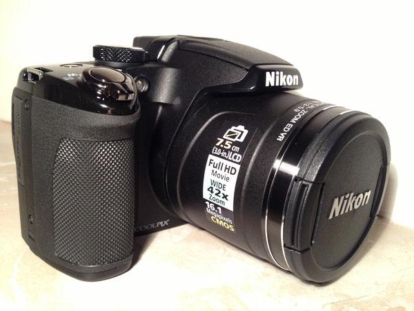 Nikon Coolpix P510, 16 Megapixel, GPS, 42-fach opt. Zoom Bildstabilisiert (entspricht 24 bis 1000 mm)
