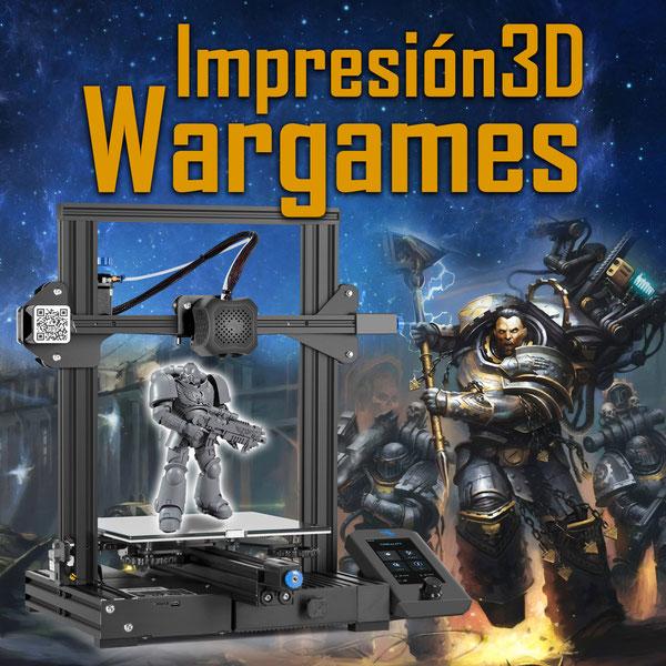 Impresión 3D y juegos de mesa (Wargames)