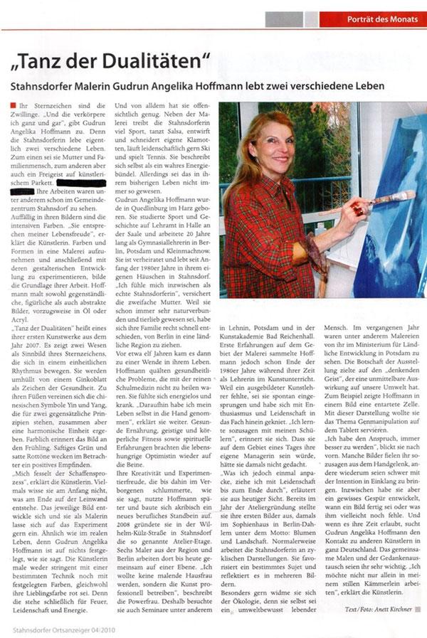 Stahnsdorfer Ortsanzeiger 04/2010