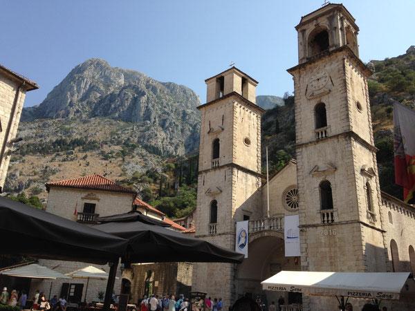 Kotor,  Cathédrale Saint-Tripun。(2016/09/15)