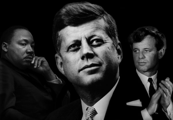 Martin Luther King John Fitzgerald Kennedy JFK Robert Kennedy RFK