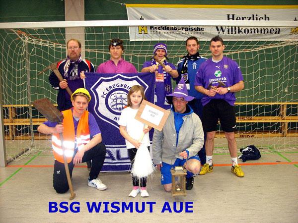 BSG WISMUT AUE- Schrammi Allstars Jüterbog