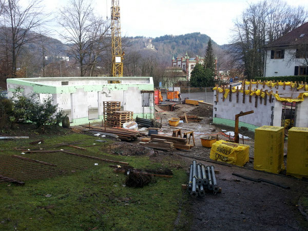 Großbaustelle Eingang Schwarzwaldzoo