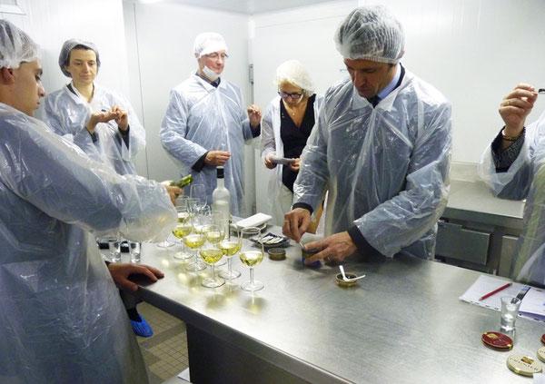"""Buffet Sensoriel orchestré par le """"Grand Chef Gérard Garrigues"""""""