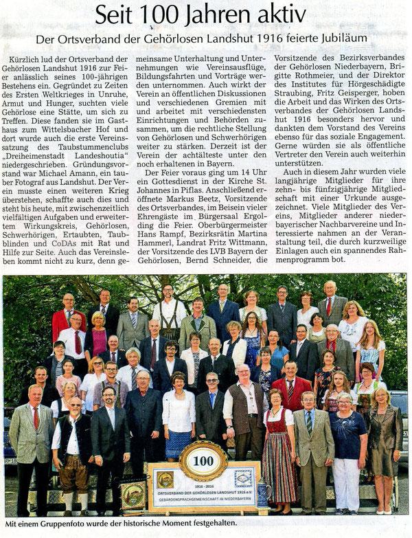 Quelle: Landshuter Zeitung 24.09.2016