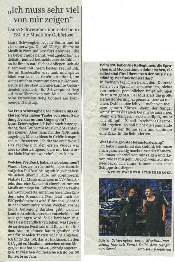 Quelle: Süddeutsche Zeitung 08.05.2018