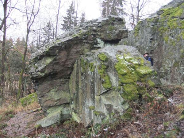 Bouldergebiet Burgstein