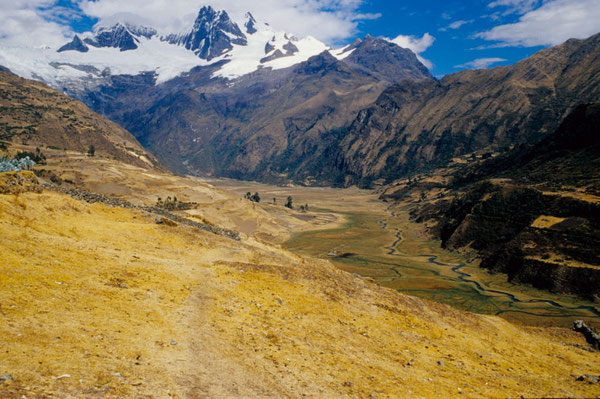Blick auf Pishgopampa (Cordillera Blanca)