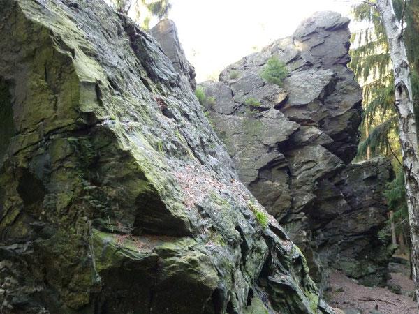 Kletterfelsen Schwarzer Stein