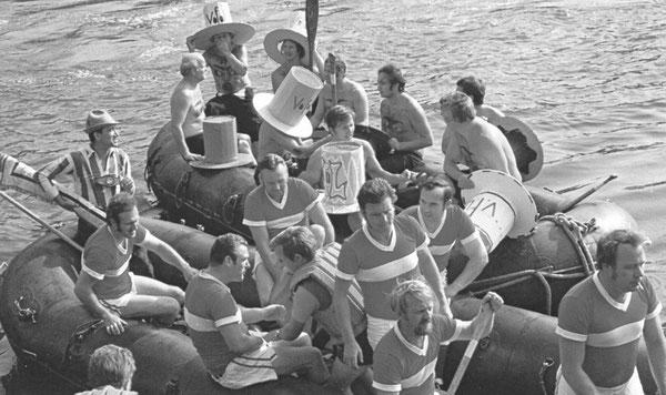 Schlauchbootregatta Lehner Kirmes