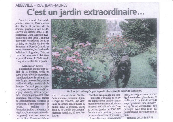 Journal d'Abbeville juin 2009