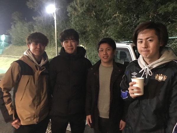 8期生 今年大学生になりました!原巧と三堀峻は湘南フットサル クラブで活躍中!