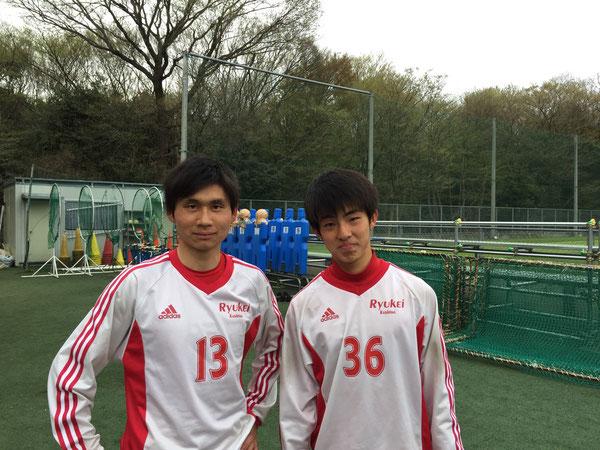 7期生板倉選手 8期生横田選手 リーヴレ2ショットです!写真ありがとう!