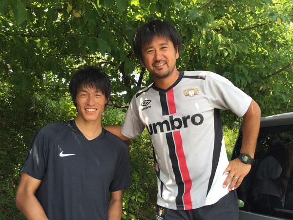 まだまだ山田コーチには追いつけません…