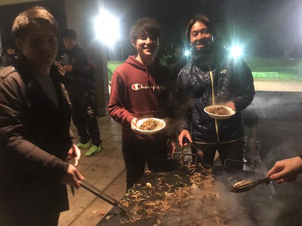6期生 植村コーチと生田大弥