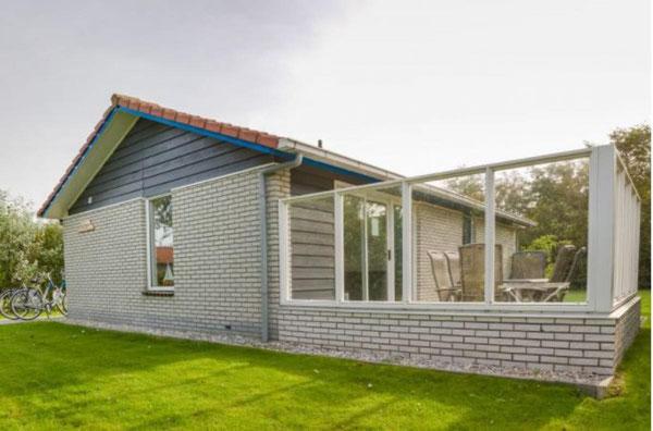 Te huur vakantiehuisje voor 4 personen op het Vakantiepark Boomhiemke op Ameland met gratis internet