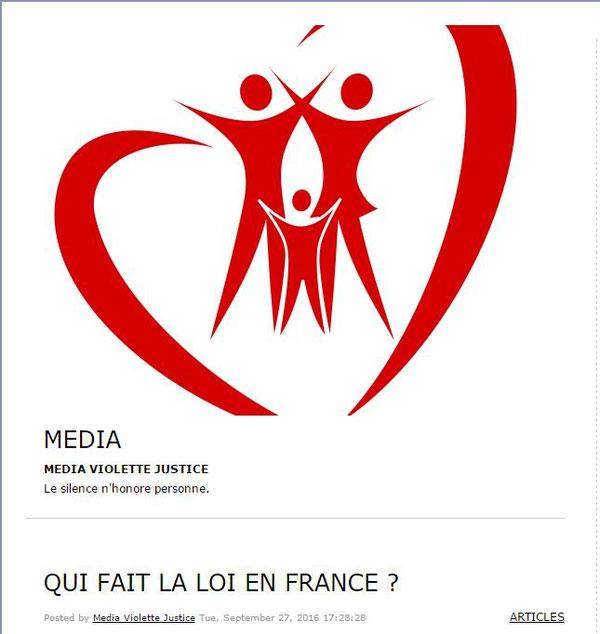 Que Fait La Loi En France Association D Entraide Des