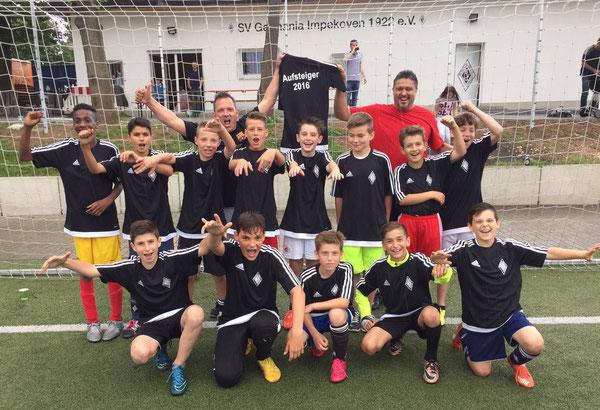 Juni 2016 - Afstieg in die D- Junioren Sondergruppe