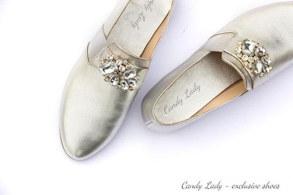 свадебные вечерние туфли лоферы пошив Киев Москва