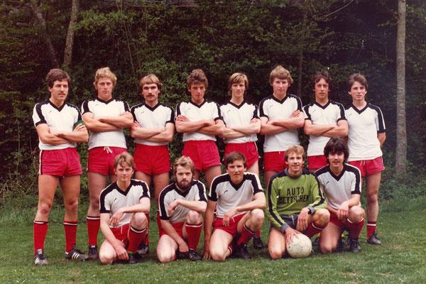 2. Mannschaft 1981/82