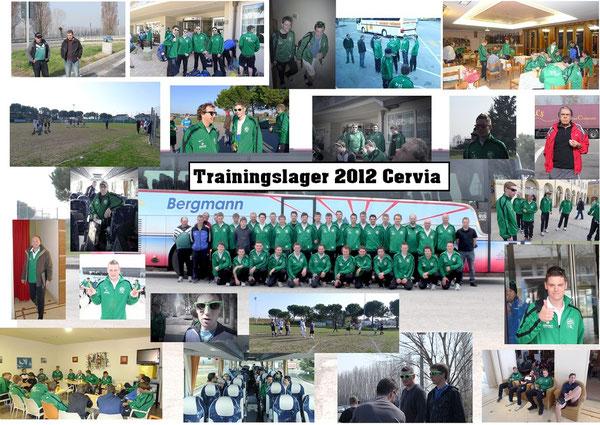 Trainingslager 2012 Cervia