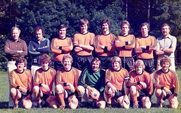 Aufstiegsmannschaft 1976/77