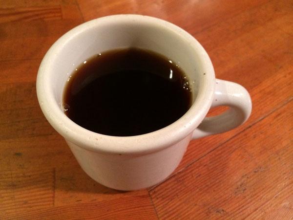 コーヒーを飲んでゆっくり待つ。。。
