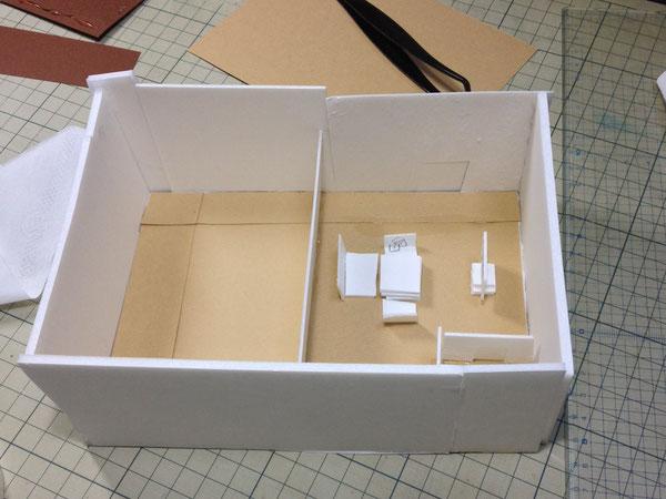 小3の建築模型