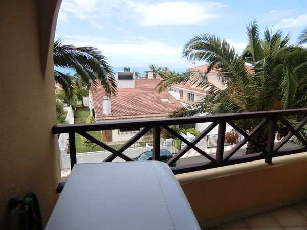 Balkon vor der Küche