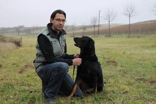 Roland mit Casey