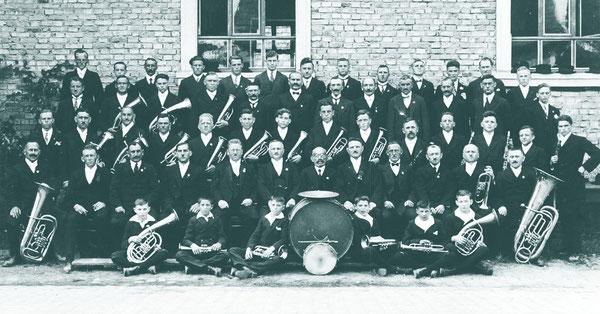 """Musikverein und Gesangverein """"Edelweiß"""" 1929"""