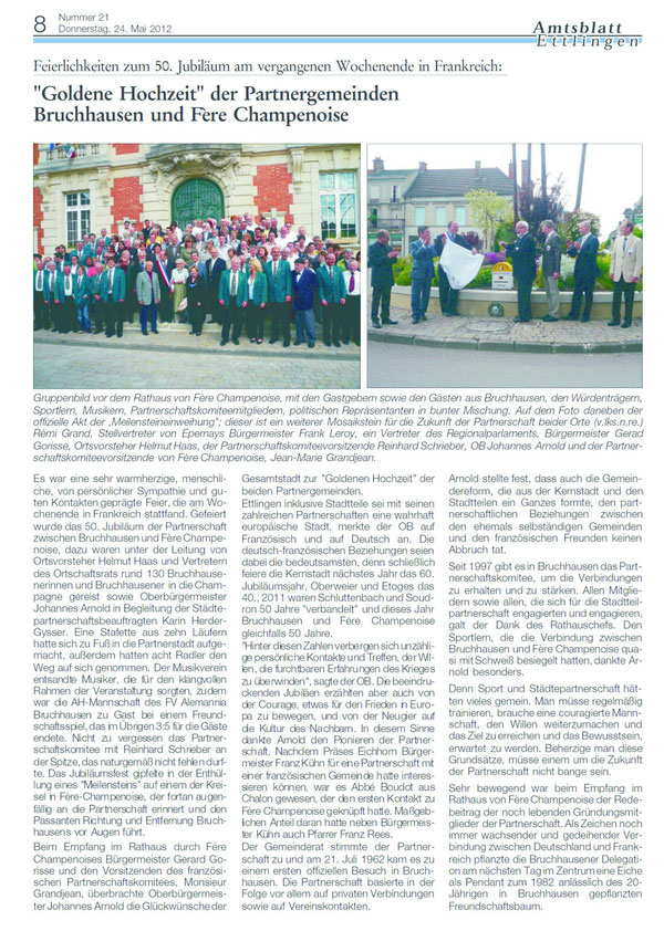 Amtsblatt Bericht 24.05.2012