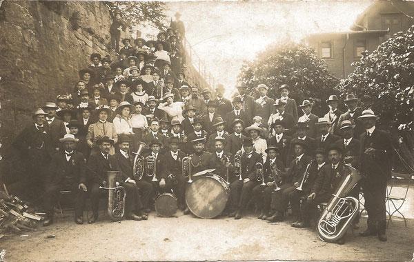 Vereinsausflug um 1914