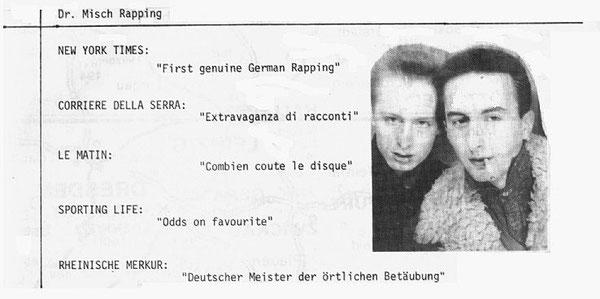 Label-Folder 1980: Pierangelo & Matt