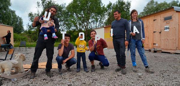 Utopia 56, association d'aide aux migrants à Calais et Paris