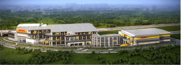 Animation of DHL's future home in Singapore  /  source: DHLSC Sg