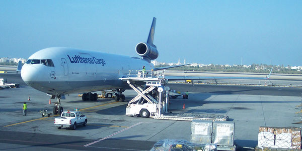 Lufthansa Cargo will soon operate one of their MF-11Fs on the Frankfurt to Lagos route  /  source: LH Cargo
