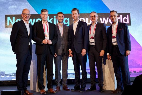 'Cargovention' panelists (l to r): Florian Pfaff, LHC  /  Heiko Ansorge, Siemens Healthcare  /  Bernhard zur Strassen, Schaeffler  /  Markus Lingohr, Agility  /  Hendrik Khezri, A. Hartrodt  -  courtesy LHC