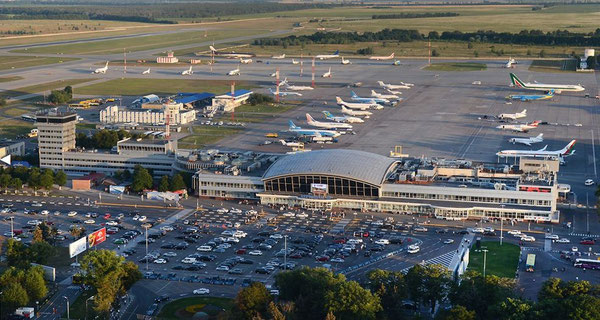 Cargo tonnage and passenger numbers dwindled at Kiev International Airport / source: Kiev Boryspil Airport
