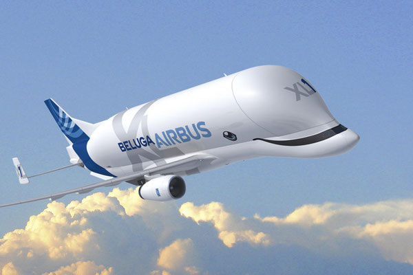 Beluga XL will take to the air in summer 2018 - image courtesy Airbus